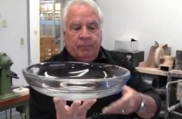 Peter Yenawine Designs and Creates A Crystal Baptismal Font – Swarthmore Presbyterian Church