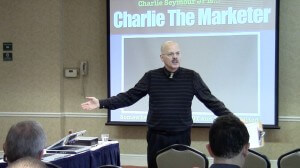 Charlie Seymour Jr presents at jvAlert Live Philadelphia in 2013. His topic was Online: Get Found, Engage, Build Profitable, Automated System To Follow Up Automagically!