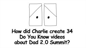 Charlie Seymour Jr, also known as Charlie The Marketer, presents 3 Simple Ways To Create A Video. This is the full recorded-live presentation. Dad 2.0 Summit